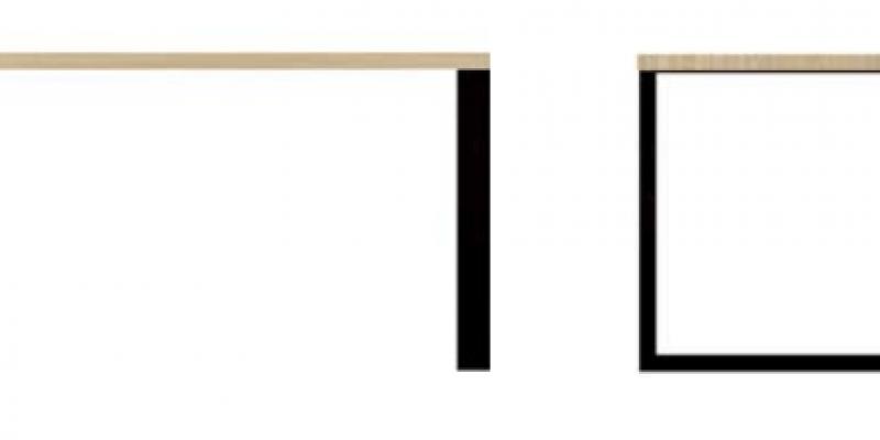 Loft-10  stolik