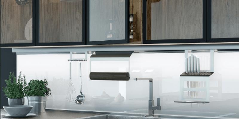 LOFT Glass półki